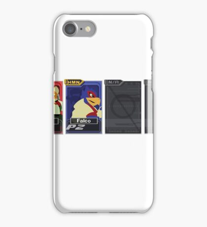 Melee Character Select iPhone Case/Skin