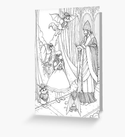Tammy And Pope Innocent Greeting Card
