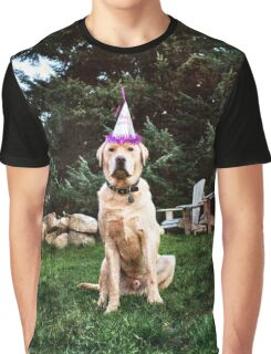 Birthday Dog Graphic T-Shirt