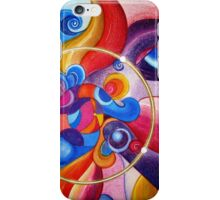 Mandala : Clown Chakra iPhone Case/Skin