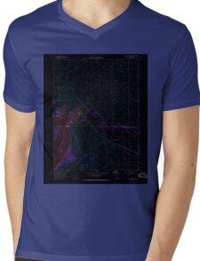 USGS TOPO Map California CA Black Butte Dam 288464 1967 24000 geo Inverted Mens V-Neck T-Shirt