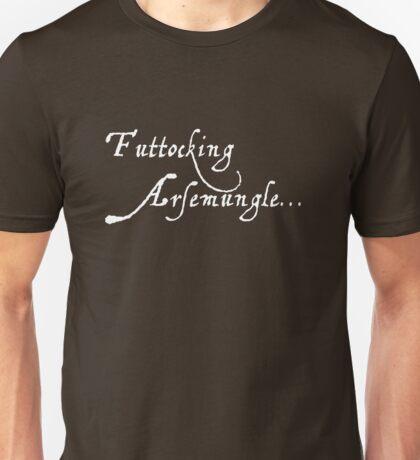 """Futtocking Arsemungle"" Shakespearean Style Comedy Series - brown Unisex T-Shirt"