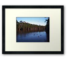 Underwood Lagoon Framed Print