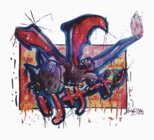 Epic Shiny Charizard Streetart Tshirts + More ' Pokemon ' Kids Clothes