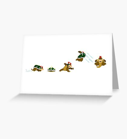 Simply Bowser Greeting Card