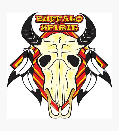 Buffalo Spirit Photographic Print