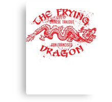 The Frying Dragon Chinese takeout Canvas Print