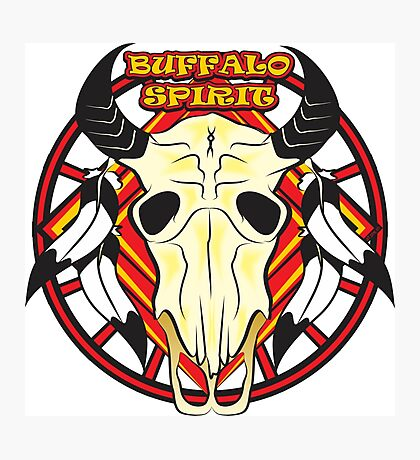 Buffalo Spirit - #2 Photographic Print