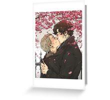 Sherlock: Under The Cherry Tree Greeting Card