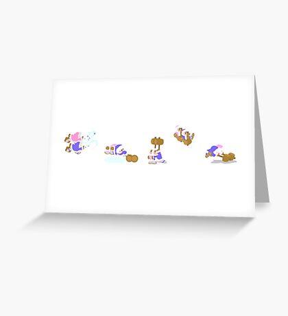 Simply Ice Climbers Greeting Card