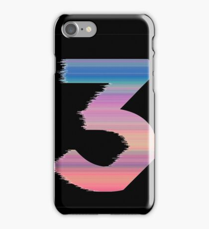 Chance The Rapper - 3 (Black) iPhone Case/Skin