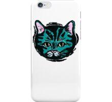 one very blue cat iPhone Case/Skin