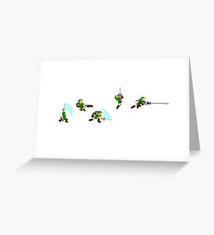 Simply Young Link Greeting Card