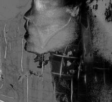 Abstract Mona Sticker
