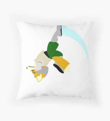 Fox Upsmash Throw Pillow