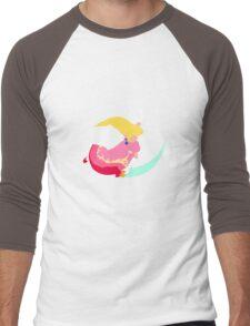 Peach Fair Men's Baseball ¾ T-Shirt