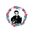 elvis presley - the floral king by eugeniaindri
