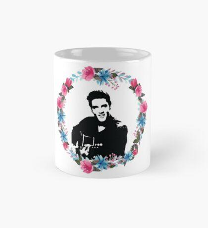 elvis presley - the floral king Mug