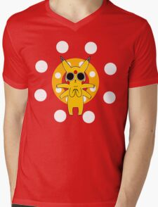 Pikachu's Trip - one circle Mens V-Neck T-Shirt