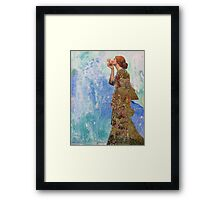 Her Secret Framed Print