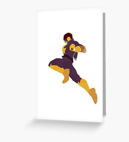 Captain Falcon Knee Greeting Card