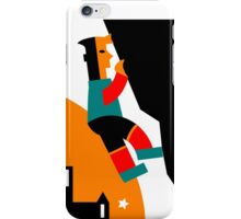 Rock Climbing Outside Abstract iPhone Case/Skin