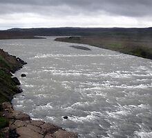 Gulfoss - Iceland by John Kleywegt