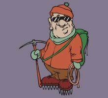 Cartoon Mountain Climber Kids Clothes