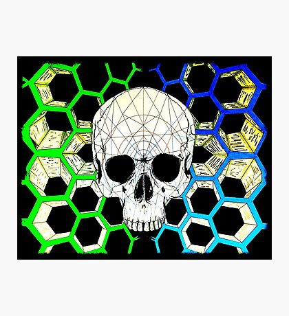 HexSkull Photographic Print