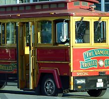 Vancouver Trolley by phil decocco