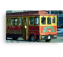 Vancouver Trolley Canvas Print