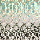 Pastel Pattern of Circular Shapes by Phil Perkins