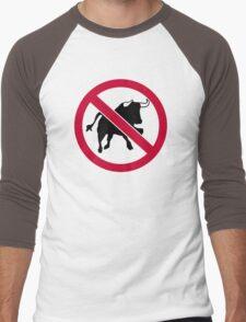 No bulls Men's Baseball ¾ T-Shirt
