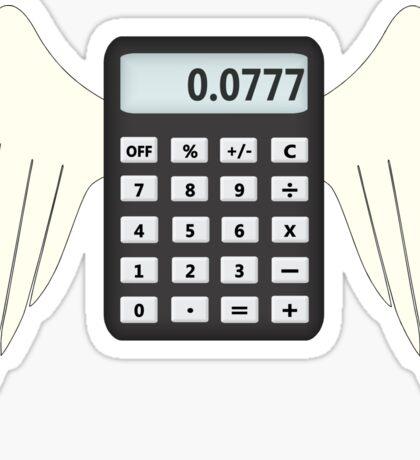 Where do all the calculators go? Sticker