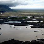Vatnajökull - Iceland by John Kleywegt