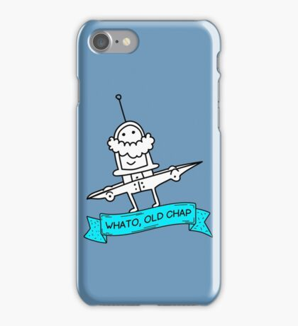 Whato, Old Chap iPhone Case/Skin