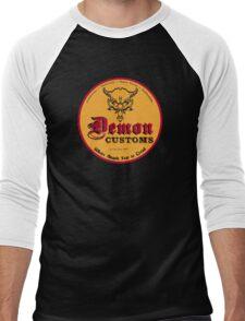 Demon Customs Hot Rod Men's Baseball ¾ T-Shirt