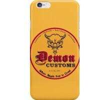 Demon Customs Hot Rod iPhone Case/Skin