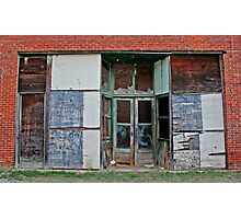 Storefront Gallery Photographic Print