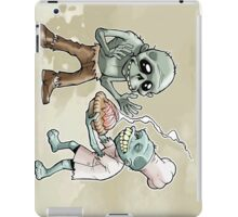 Zombies Share Pie iPad Case/Skin