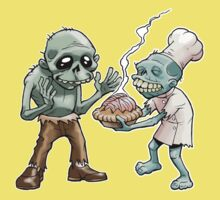Zombies Share Pie Kids Tee