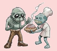 Zombies Share Pie One Piece - Long Sleeve