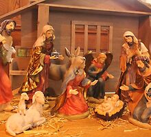Church Nativity by Kathy Rogers-Hartley