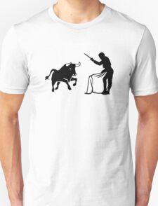 Bull fighting matador Unisex T-Shirt