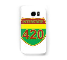 Interstate 420 Rasta Rastafarian Samsung Galaxy Case/Skin