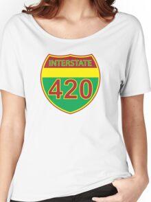 Interstate 420 Rasta Rastafarian Women's Relaxed Fit T-Shirt