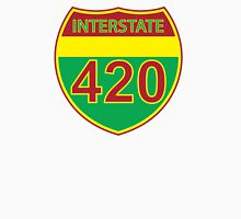 Interstate 420 Rasta Rastafarian Unisex T-Shirt