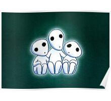 Tree Spirit Friends- Mononoke Poster