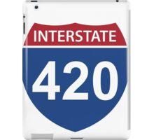 Interstate 420 iPad Case/Skin