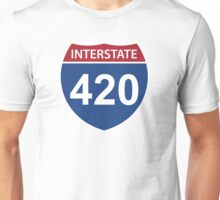 Interstate 420 Unisex T-Shirt